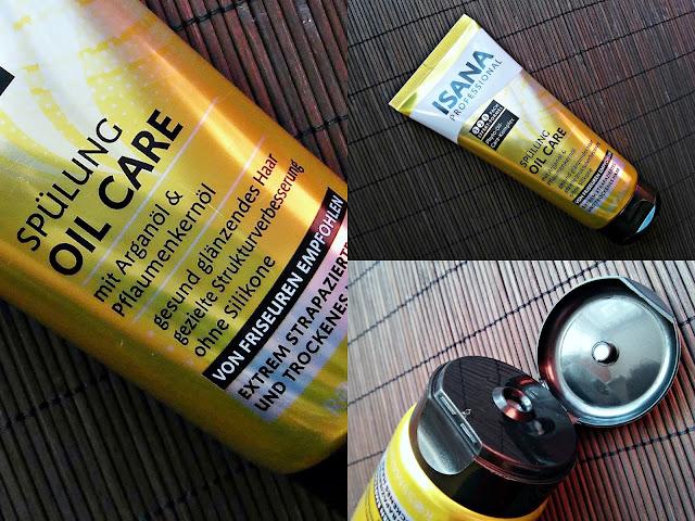 Isana Professional, Spülung Oil Care - Odżywka do włosów suchych i zniszczonych