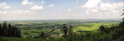 Panorama ze stoku Bliźniaków.