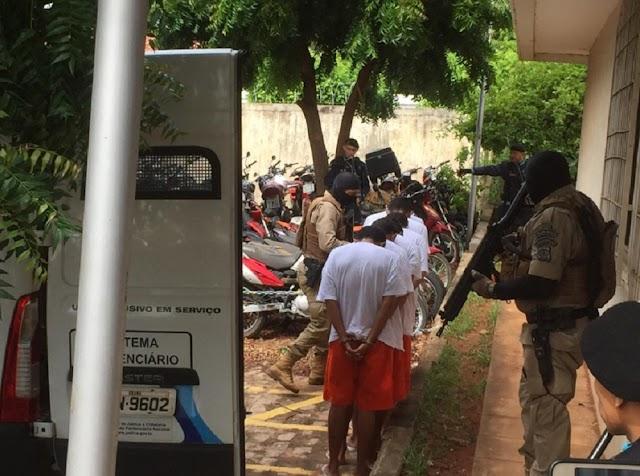 Justiça mantém prisão dos oito suspeitos de participar de tentativa de ataque a bancos em Milagres