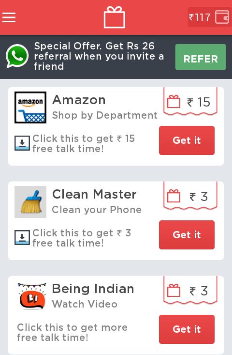 Ladooo get free mobile recharge android app NKWorld4U