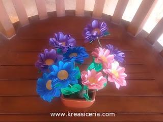 Cara Mudah Membuat Bunga yang Indah dari Kertas (Prakarya SD)