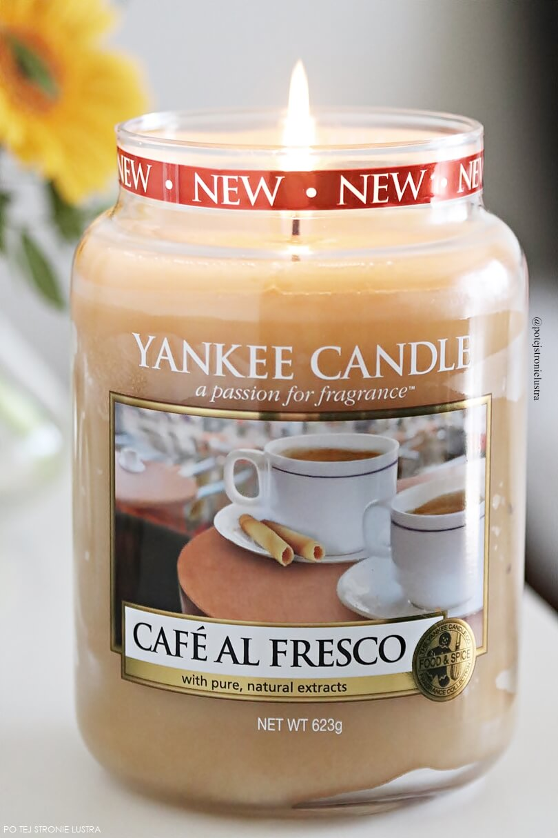 cafe al fresco yankee candle recenzja blog
