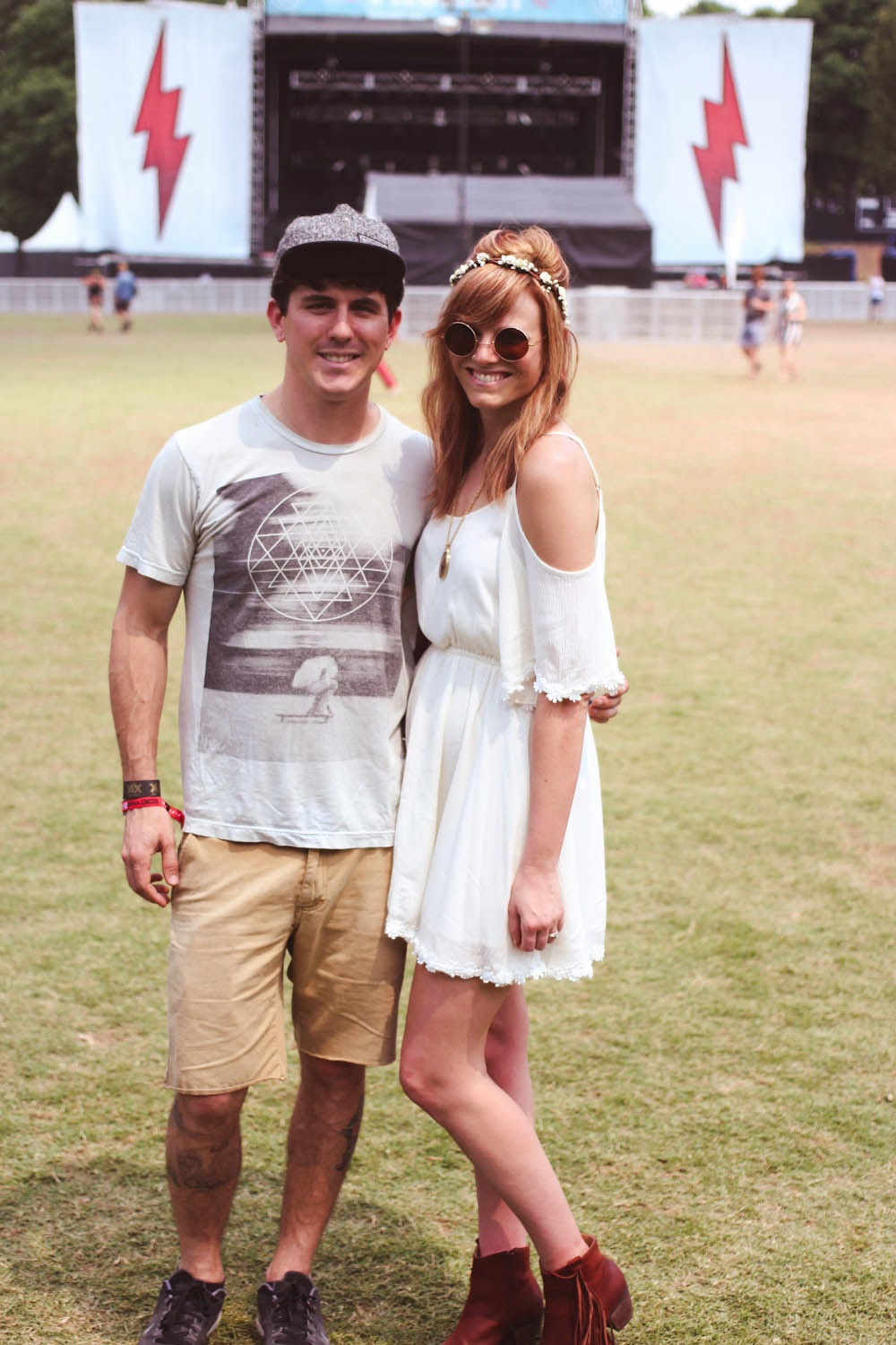 shaky knees festival, festival style, lulus white dress, nyc fashion blogger, nyc fashion bloggers, matt degreff