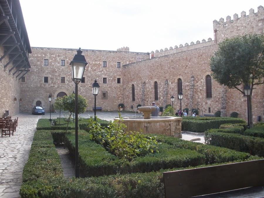Interior del Castillo de Sigüenza