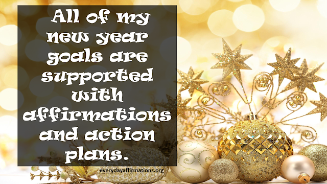 New Year Affirmations
