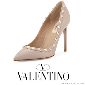 Princess Madeleine wore Valentino Rockstud Pumps