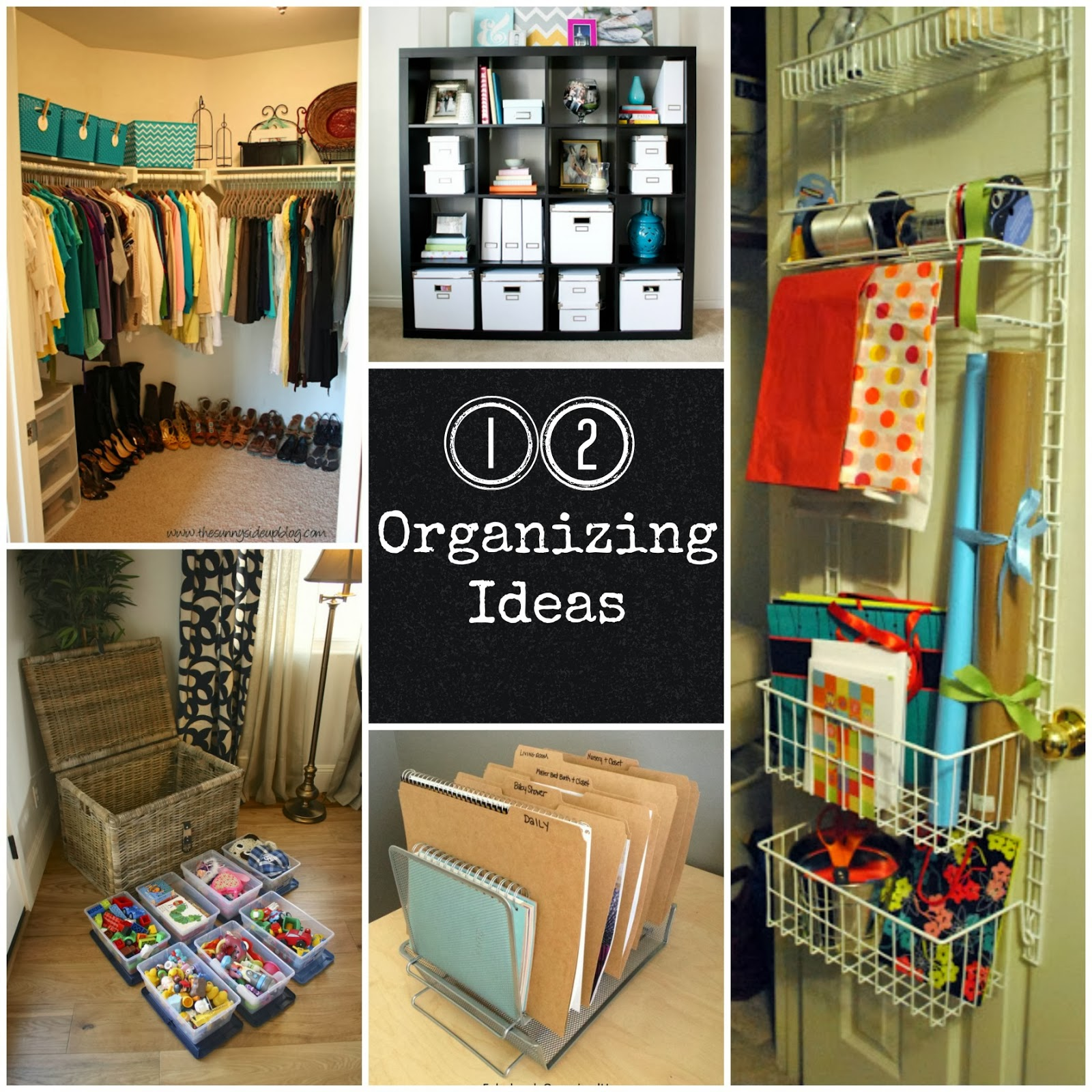 12 organizing ideas fun home things Organizing home