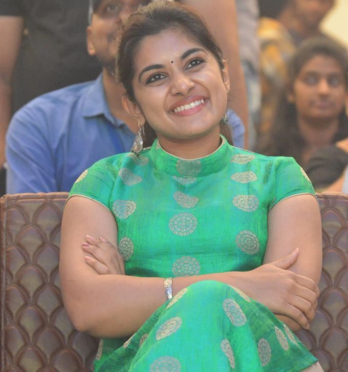 Niveda Thomas At Ninnu Kori Telugu Movie Success Celebration