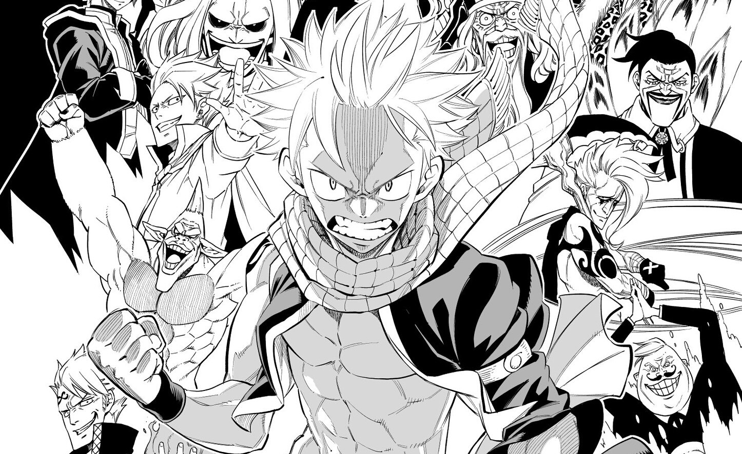 Fairy Tail Creator And Lucy Voice Cast Shares Final Chapter​ Color Gate And Cover.
