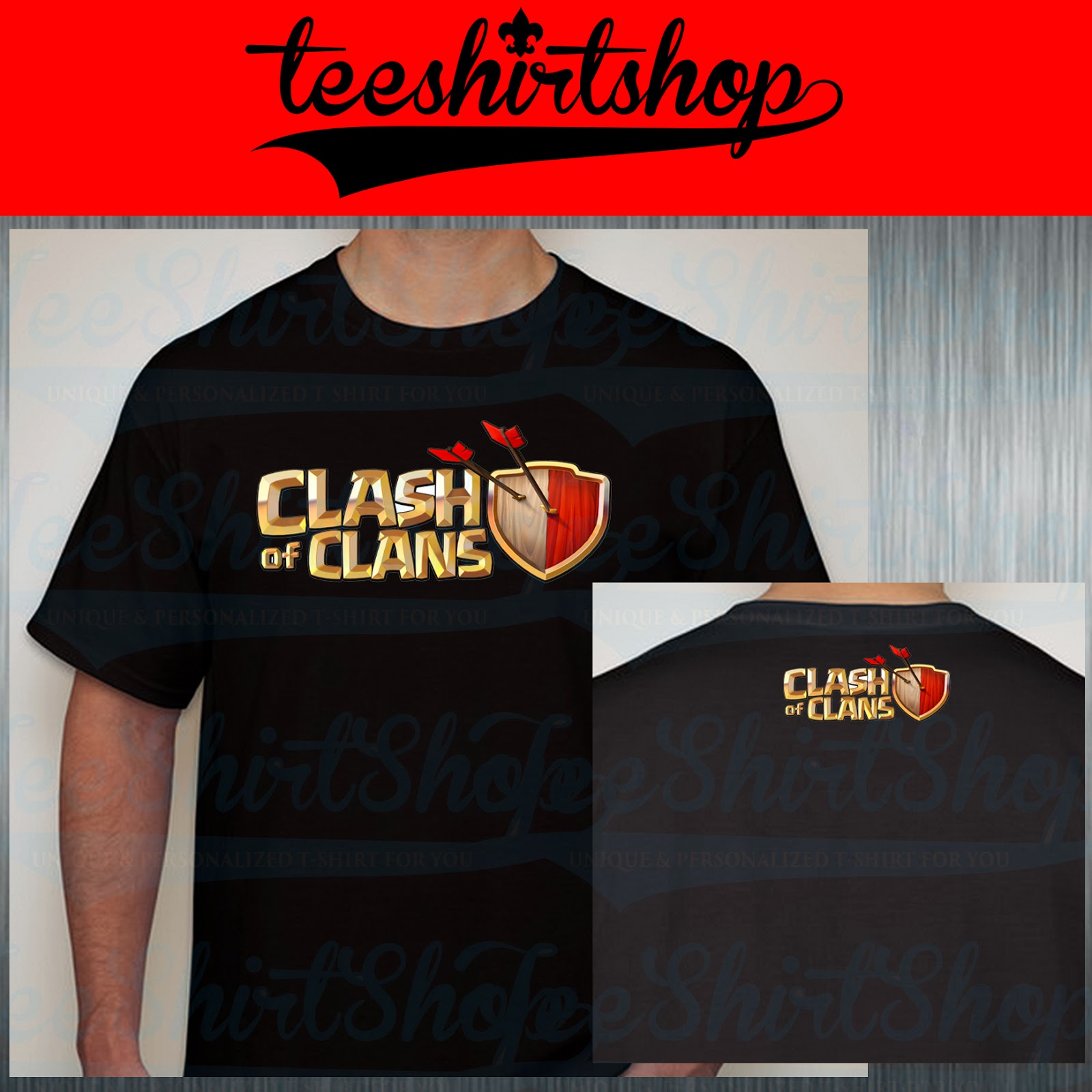Tee Shirt Shop Clash Of Clans Tshirt