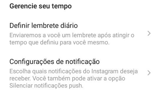 Instagram: Como gerenciar o tempo no App.