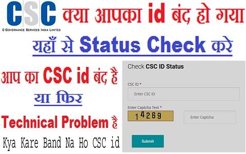 check csc id status
