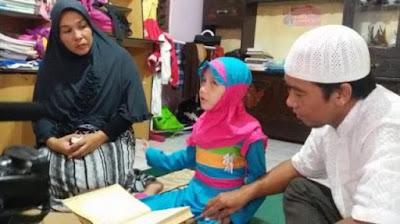 Masyita, Gadis Kecil Tunanetra Penghafal Al-Qur'an yang Diberangkatkan Haji