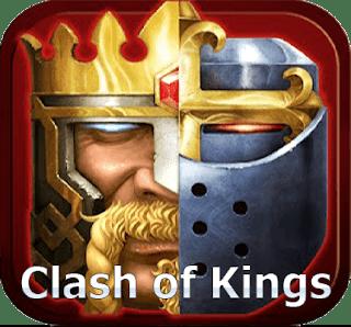 تحميل لعبة كلاش اوف كينجز مهكرة Clash of Kings اخر اصدار