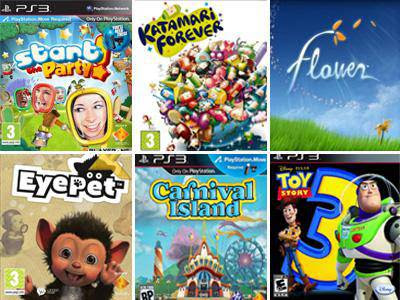 Console Games  Great PS3 Games for Kids That ll Spark Creativity Great PS3 Games for Kids That ll Spark Creativity