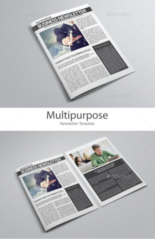 26. Indesign Newsletter Template vol 1