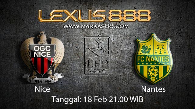 PREDIKSIBOLA - PREDIKSI TARUHAN BOLA NICE VS NANTES 18 FEBRUARI 2018 ( FRENCH LIGUE 1 )