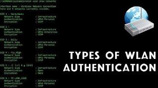 Jenis dan Perbedaan Tipe Autentikasi WLAN (Balajar Jaringan Dasar)