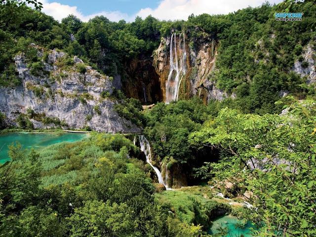 جولة سياحية أجمل البلاد مستوى العالم كرواتيا بليتفيتش Plitvice-Lakes-National-Park-wallpaper.jpg