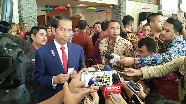 HTI Dibubarkan, Jokowi: Kami Dapat Masukan Termasuk dari Ulama 1