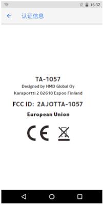 Nokia TA-1057 passes FCC