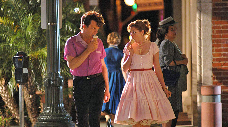 John C. Reilly und Jenna Fischer in WALK HARD (Jake Kasdan, 2007). Quelle: Verleih (Columbia Pictures)