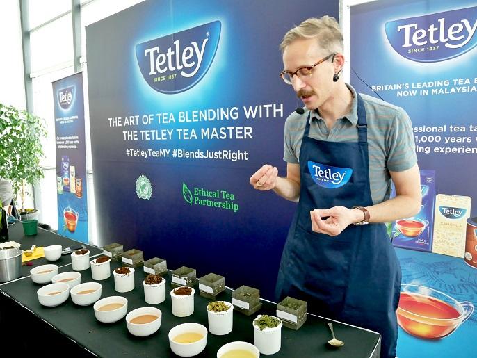 Tetley Malaysia @ The Art of Tea Blending by Sebastian