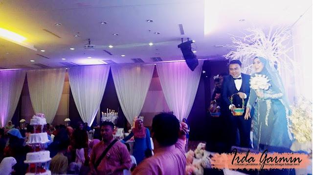 Pengacara majlis perkahwinan di dewan LJT,Melawati