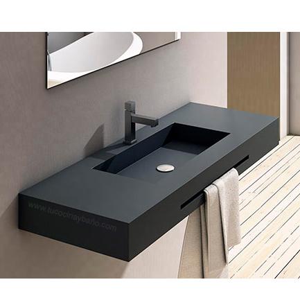 Encimera lavabo suspendido tu cocina y ba o for Encimeras de bano para lavabo