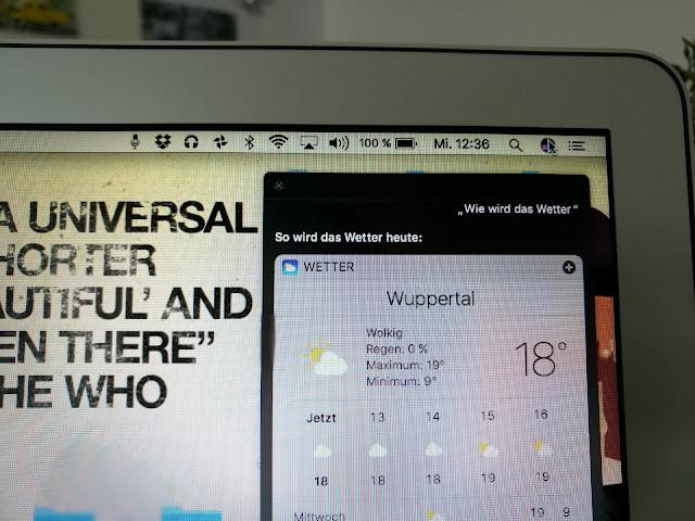 Neues Update am Mac - Neues Glück. Siri am MacBook.