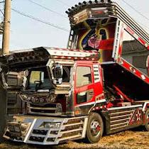 Gambar foto truk fuso mitsubishi modifikasi terbaru 2018 gambar modifikasi mobil dump truk terbaru indonesia 2018 dump truk modifikasi unik dan inovatif mobil dump truk adalah sala altavistaventures Image collections
