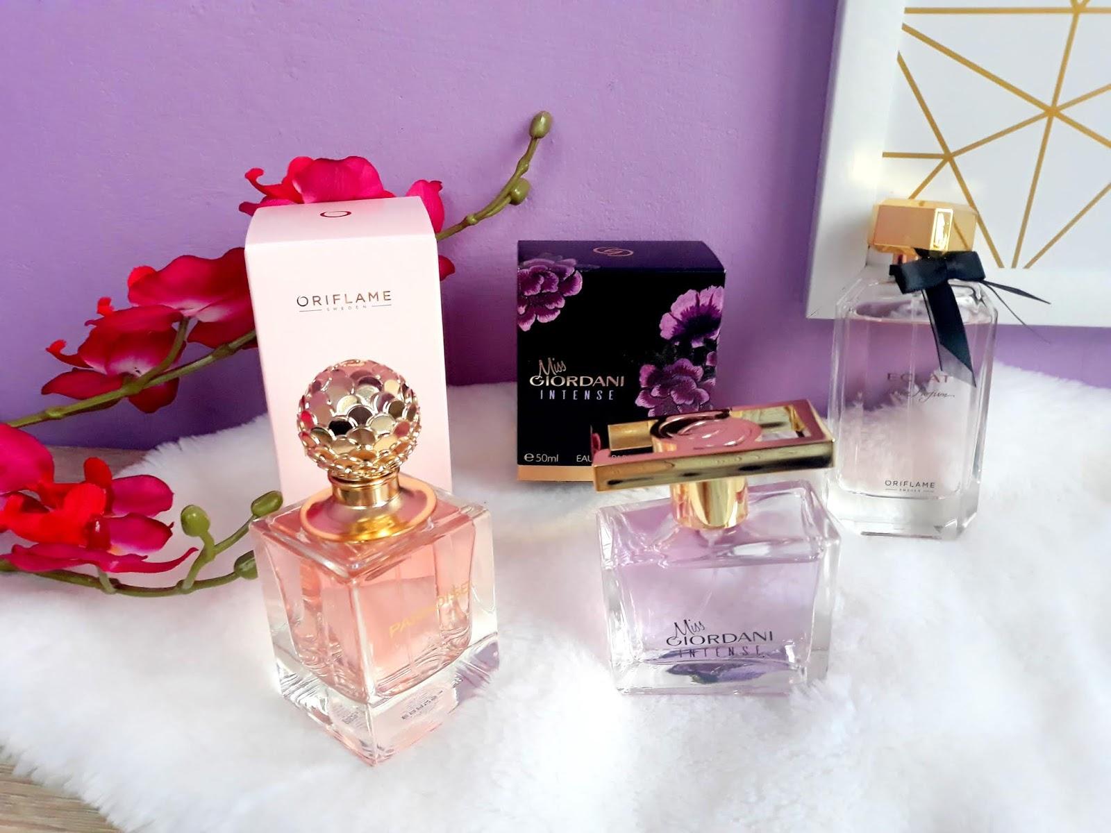 Nowości zapachowe od Oriflame