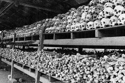 Crânios de judeus mortos na Alemanha nazista
