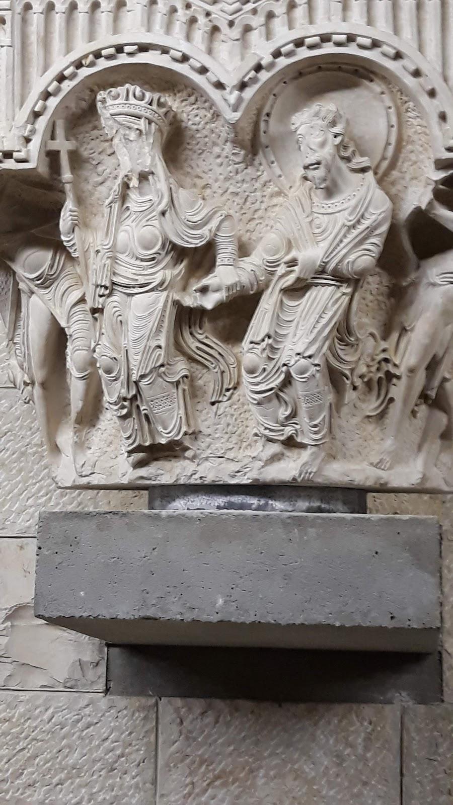 Nazaret, muzeum archeologiczne, kapitel, XII wiek,