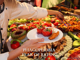 Phagophobia, fear of eating