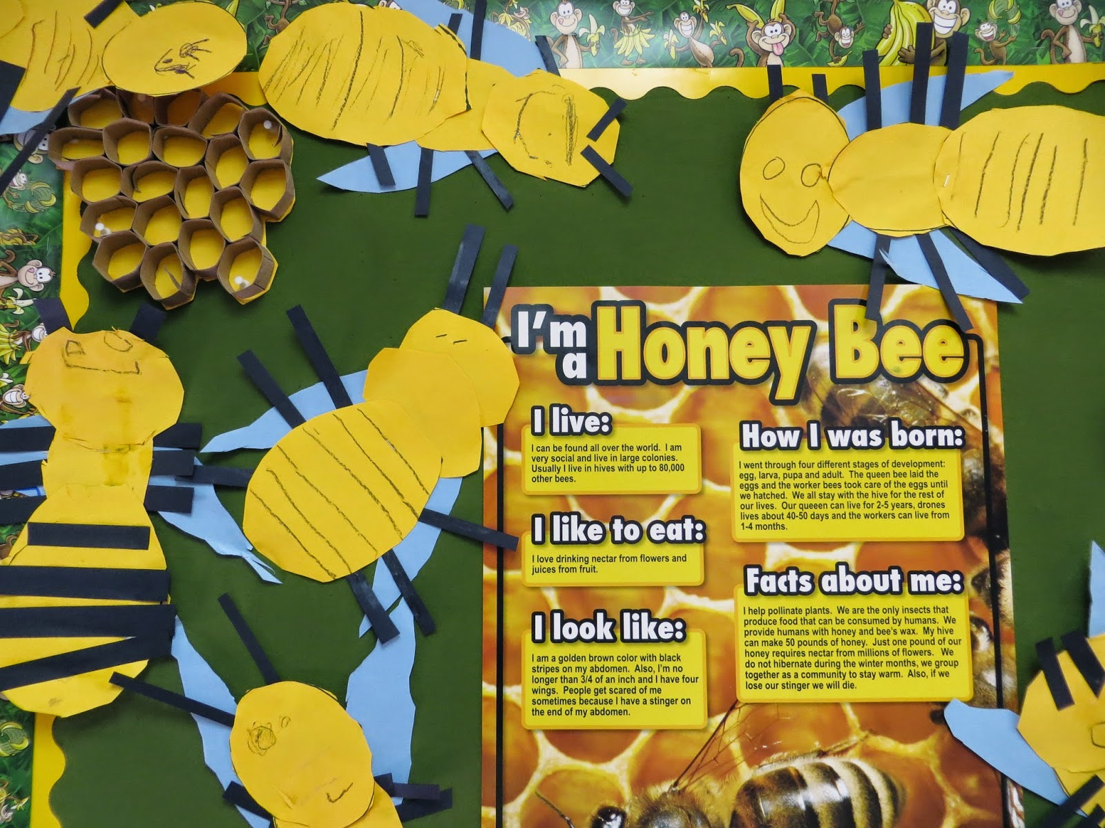 Preschool For Rookies Insects All About Honey Bees