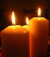 Significado da cor e da forma das velas