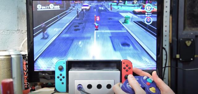 No te pierdas esta GameCube convertida en dock para Nintendo SwitchS