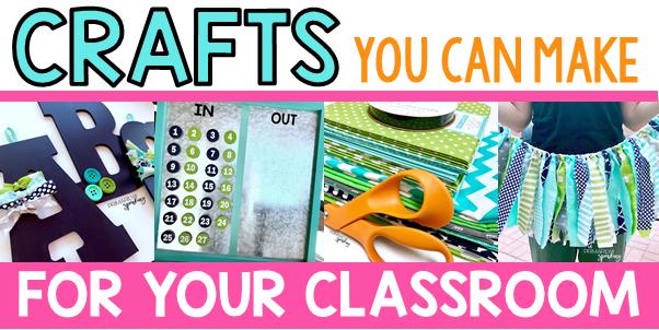 Classroom Decor you can make