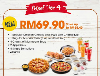 HUT'S SET JIMAT (MEAL FOR 4)
