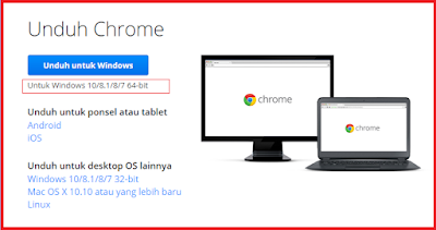 Cara Menginstal Aplikasi Google Chrome Di Laptop