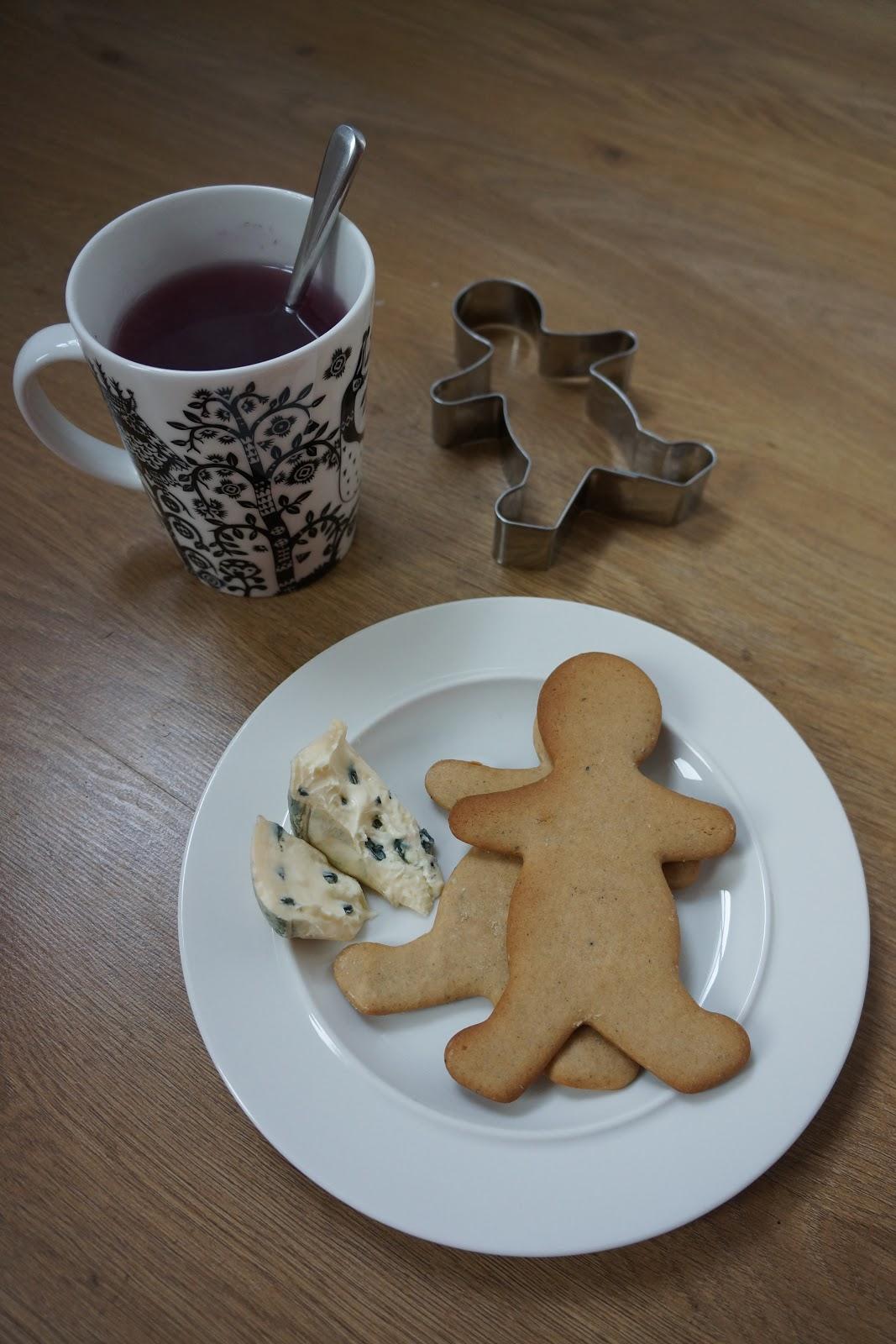 traditional scandinavian finnish gingerbread biscuits