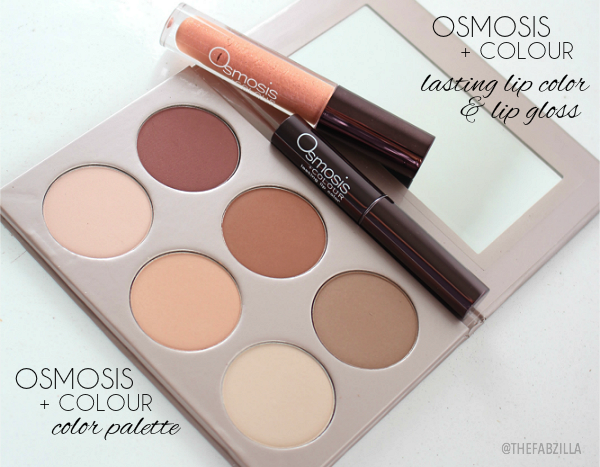 Osmosis Colour Color Palette, Osmosis Matte Collection, Review, Swatches, Osmosis Lasting Lip Color, Osmosis Lip Gloss