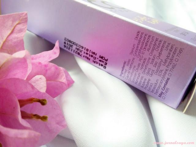 daftar ingredients la tulipe cc cream