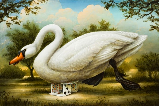 O Dilúvio - Kevin Sloan e suas pinturas mágicas