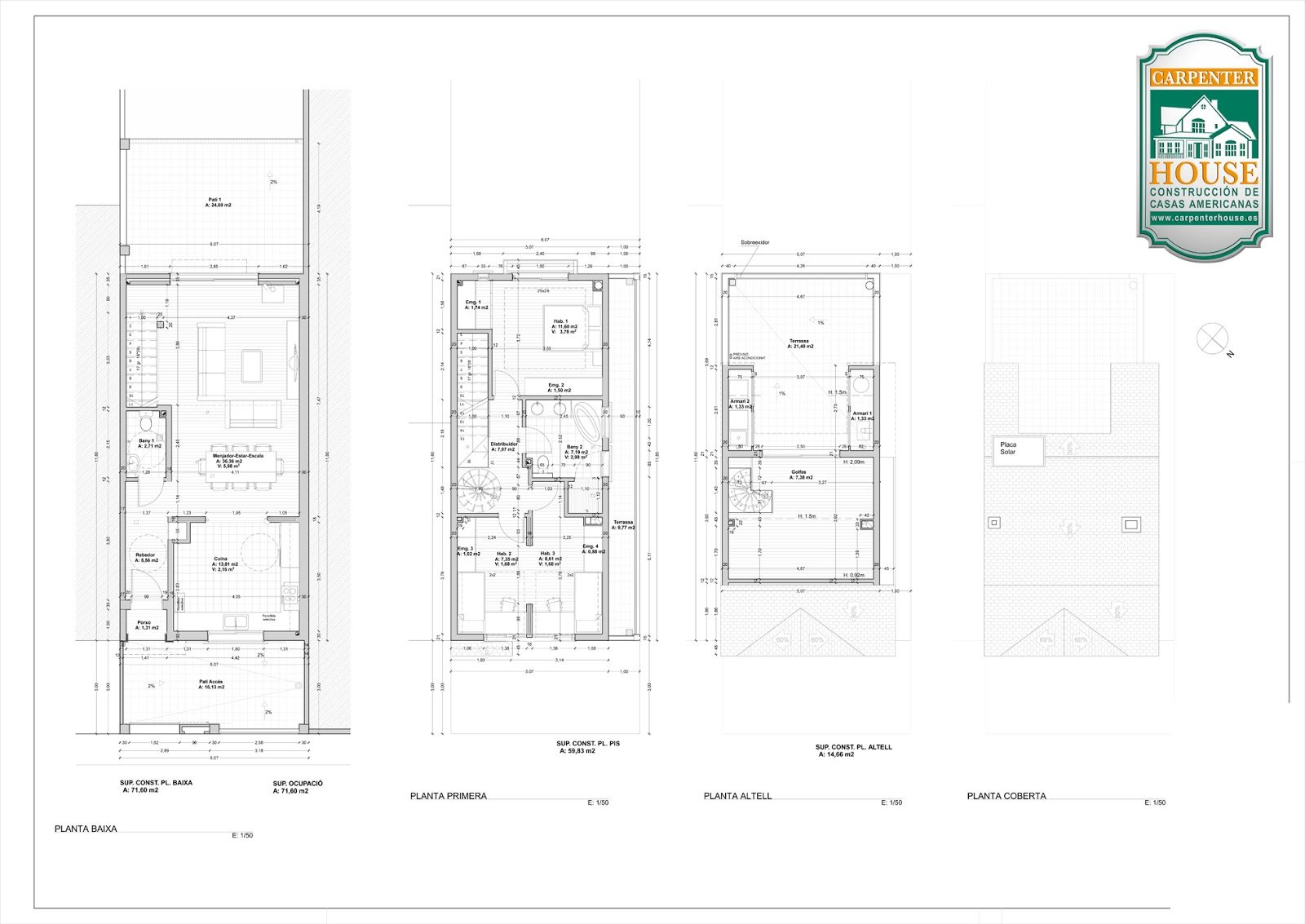 Carpenter House Diagrams