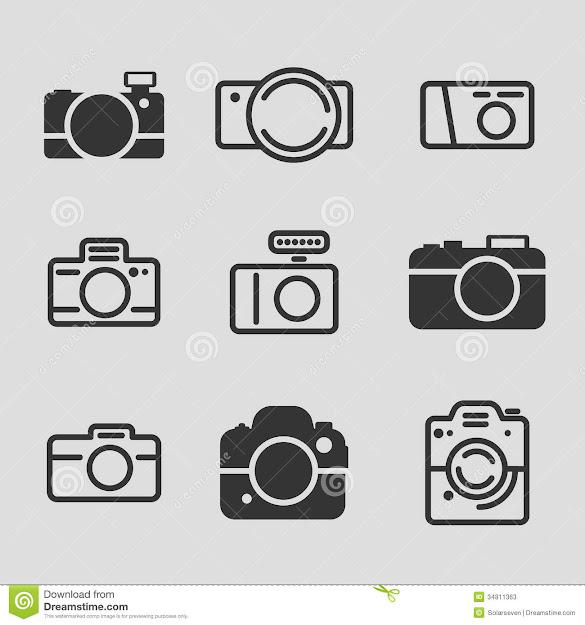 Modern Camera Icons