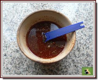 Vie quotidienne de FLaure : Palette de porc confite aux épices, entourée de légumes