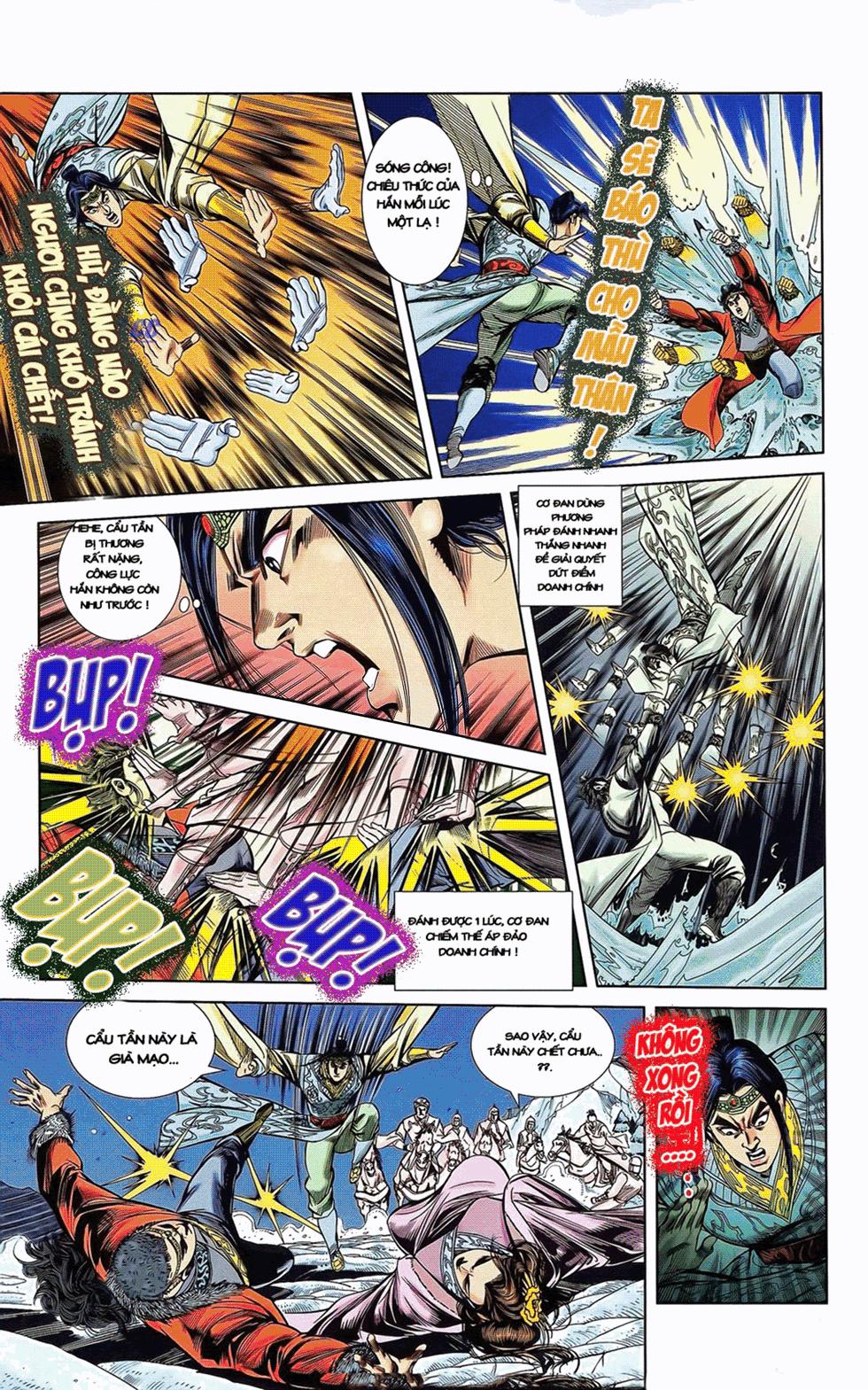 Tần Vương Doanh Chính chapter 11 trang 28