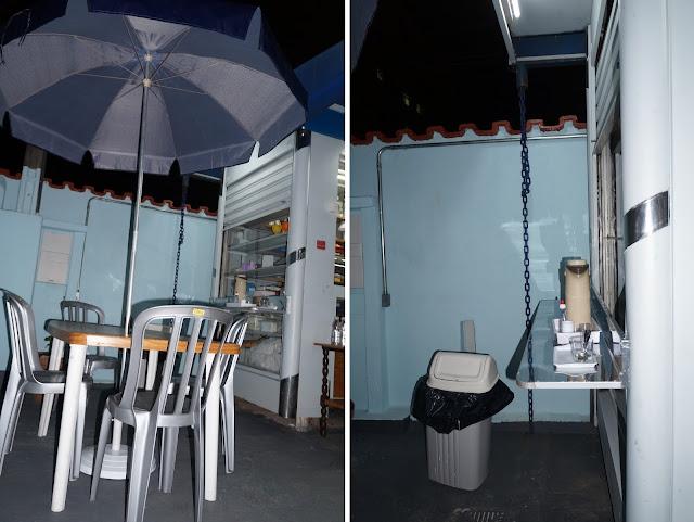 área de alimentação e cantinho do café do CEU - Santos